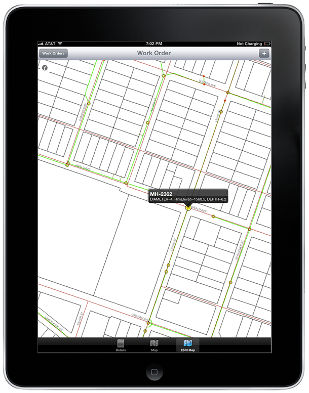 Maximo Asset and GIS information easily accessed via MapEngine - powered by Mobile Informer