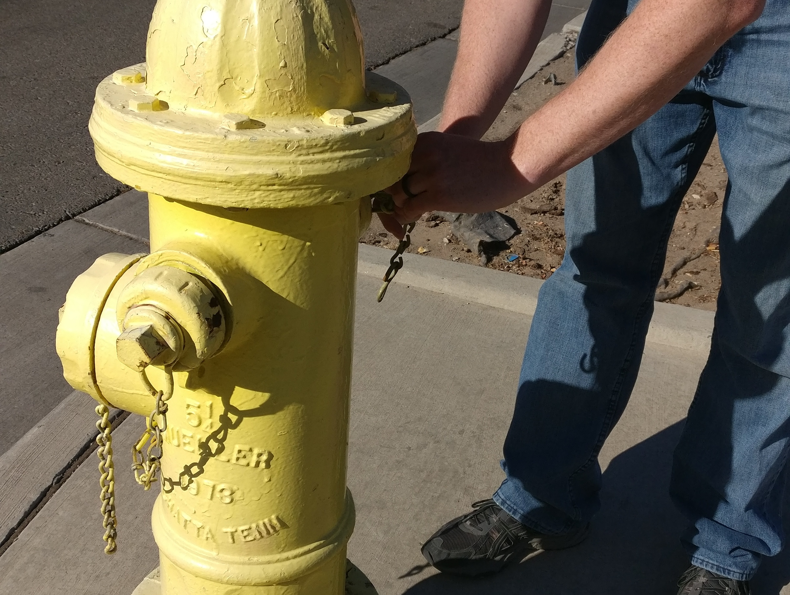 ABCWUA Fire Hydrant Inspection