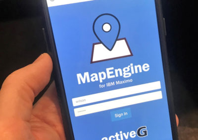 MapEngine on a phone
